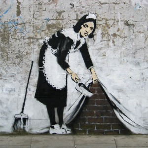 Banksy, copyright Getty